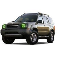 for Nissan Xterra 02-04 Green LED Halo kit for Headlights