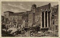 Roma Rom alte Ansichtskarte 1934 gelaufen  Partie am Foro d'Augusto Ruine