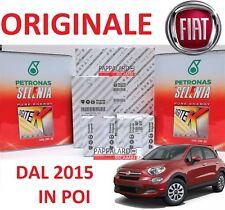 KIT TAGLIANDO FILTRI ORIGINALI + OLIO SELENIA + CANDELE FIAT 500 X 1.4 MULTIAIR