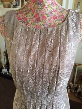 Monsoon Nude Lace Leigh Dress Size 18 Ec Holidays