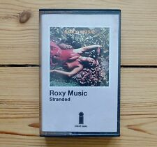 ROXY MUSIC Stranded, original Island cassette tape, with paper labels, rare