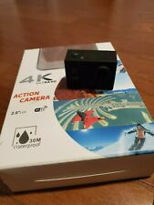 4K Ultra HD action camera w/ Large Selection of Accessories