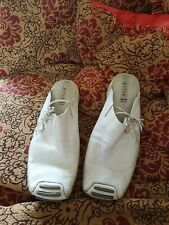 Privo clarks Silvery Blue Leather Flats UK 7 VGC