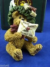 Boyds Bearstone Collection - Mysteri Bearlove . Special Wishes - Style# 25742