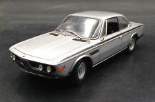 Minichamps 1/18 BMW 3.0CSL. 1972. Silver. Very Rare diecast car