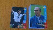 UPPER Deck Inghilterra 1997 carte-NR SERIE COMPLETA (77/82) - ottime condizioni