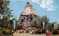 Disneyland Postcard Matterhorn  - Tomorrowland E-7