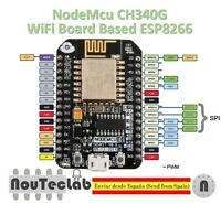 NodeMcu Lua CH340G Wireless Module WIFI IOT Development Board ESP8266 ESP-12E