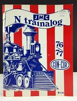 JMC Con-Cor N Trainalog Catalog 76/77 N Scale Railroad Publication