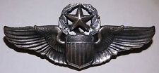 WW2 AAF Sterling Command Pilot Wing - Josten Maker - CB