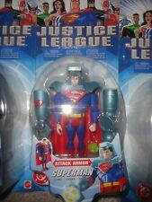 JUSTICE LEAGUE ATTACK ARMOR SUPERMAN FIGURE NEVER OPENED