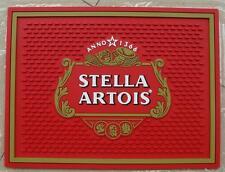 STELLA ARTOIS BEER BAR SPILL MAT RUBBER COASTER NEW
