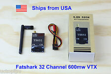 Fatshark 32 Channel Video Transmitter 5.8G 600mw DJI Phantom 1 2 3 F550 RC Plane