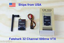 Fatshark 32 Channel Video Transmitter 5.8G 600mw DJI Phantom 1 2 3 F550 RC Plane