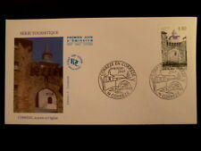 FRANCE PREMIER JOUR FDC YVERT 2957   PORTE D 'EGLISE    4,40F    CORREZE    1995
