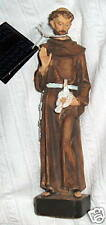 Saint ST FRANCIS of ASSISI 8 in statue NIB Digiovanni  FRANCISCAN STIGMATIST