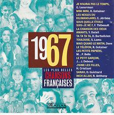 CD CHANSONS FRANCAISES 1967 GOTAINER/LAMA/GUICHARD/DUTEIL/LENORMAN/BELLE/DAVE