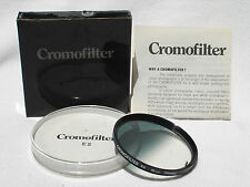 CROMOFILTER E2  55mm France (  Cromo filter ) with box ,case, instructions