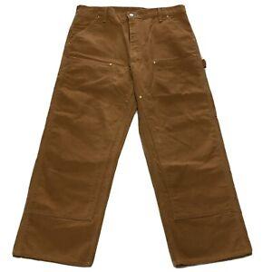 Carhartt Mens Work Pants Brown