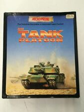 Boxed M1 TANK PLATOON Atari STE Game by Microprose