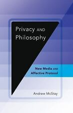 NEW Digital Formations: Privacy and Philosophy : New Media $50.00