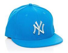 ! New Era Cap 7 1/8 NY Yankees 59 Fifty Fitted Hellblau/Hellgrau Mütze MLB TOP !