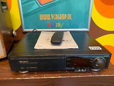 Panasonic NV-FS200 S-VHS Super 4 Head - 'Time Base Corrector' + Remote & Manual