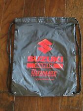 Suzuki Marine Nylon Backpack - Black - 17 x 13 inch