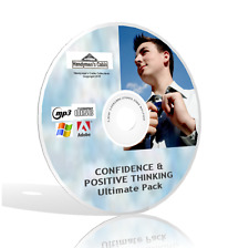 Confidence And Positive Thinking Ultimate Pack - FLV, MP3, PDF Guides & More! CD