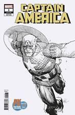 Marvel Comics 2018 SDCC Previews Exclusive Captain America # 1 Variant