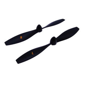 4pcs 108mm 2MM Hole Positive + Negative Propeller Glider Fixed Wing Two Blade