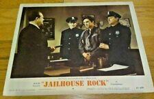 JAILHOUSE ROCK 1957 ELVIS PRESLEY 11X14 ORIGINAL MOVIE LOBBY CARD