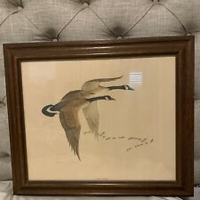 Charles Murphy Canada Geese Vintage Litho