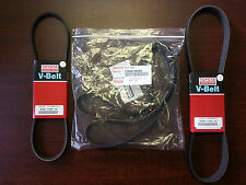 Genuine Toyota And Lexus Oem Timing Belt And Drive Belt Set