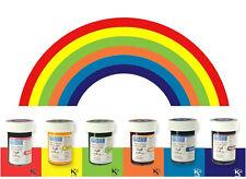 PME Glaseado Pasta Gel de color arco iris de colores Pastel Cupcakes Set Kit