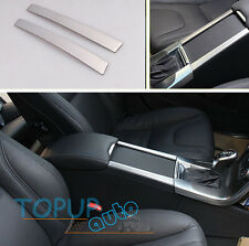 For Volvo XC60 S60 V60 Chrome Cup Drink Holder Center Console Panel Cover Trim