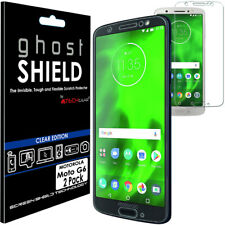 2x TECHGEAR (TPU) FULL COVERAGE Screen Protector Covers for Motorola Moto G6