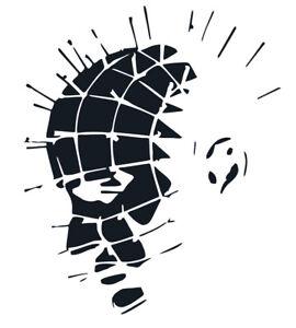 Pinhead Hellraiser #2 I II III VINYL DECAL Horror Movie, car, window, laptop