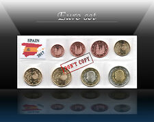 SPAIN complete EURO SET - 8 coins SET 2017 (1 cent - 2 Euro) UNCIRCULATED