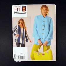 Vogue Pattern V1443 Todays Fit Sandra Betzina Misses Blouse All Bust Sizes 32-55