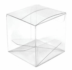Favour Box Clear Acetate 10 Pack