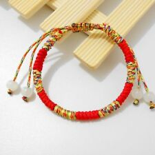 Handmade Lucky Knots Colorful Bangles Tibetan Rope Bracelet Fashion Women