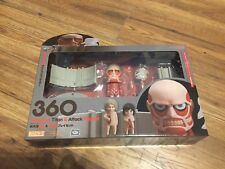 Attack On Titan Nendoroid Colossus Titan & Attack Playset New Sealed Authetic