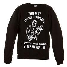 Cotton V Neck Sweatshirt Graphic Hoodies & Sweats for Men