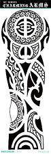 Mystry Totems Tribal boho Full Arm Temporary Tattoo Sticker