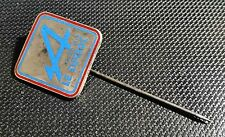 Renault Alpine Enameled Lapel Pin Club Le Turbot 19x19mm Stamped