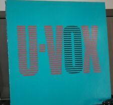 vinyle disque Ultravox new wave maxi 45t original 30 cm u-vox rare collector
