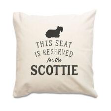 NUOVO - Reserved per il Scottie - alta qualità cuscino - cane idea regalo natale