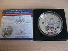 PALAU 2011 John Paul II Beatification 1 dollar UNC box CoA #597