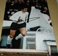 ALAN MULLERY TOTTENHAM SPURS PERSONALLY HAND SIGNED 12X8 AUTOGRAPH PHOTO SOCCER